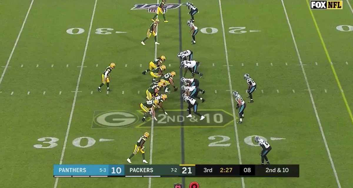 #Packers will come back to this at some point. Guaranteed. 12 knew he missed one. Look at @Showtyme_33 👀👀