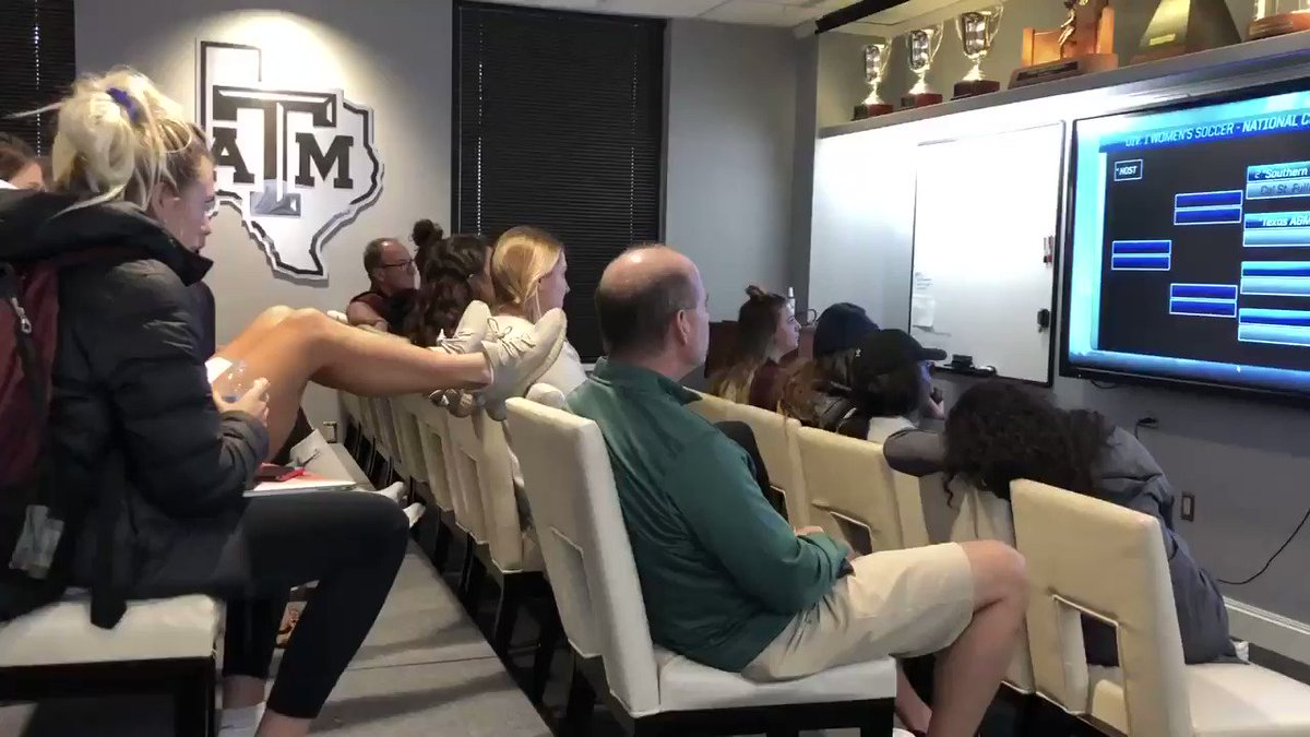 ⚠️RIVALRY ALERT⚠️ Texas A&M soccer finds out it will host Texas in the first round of the NCAA Tournament on Friday.