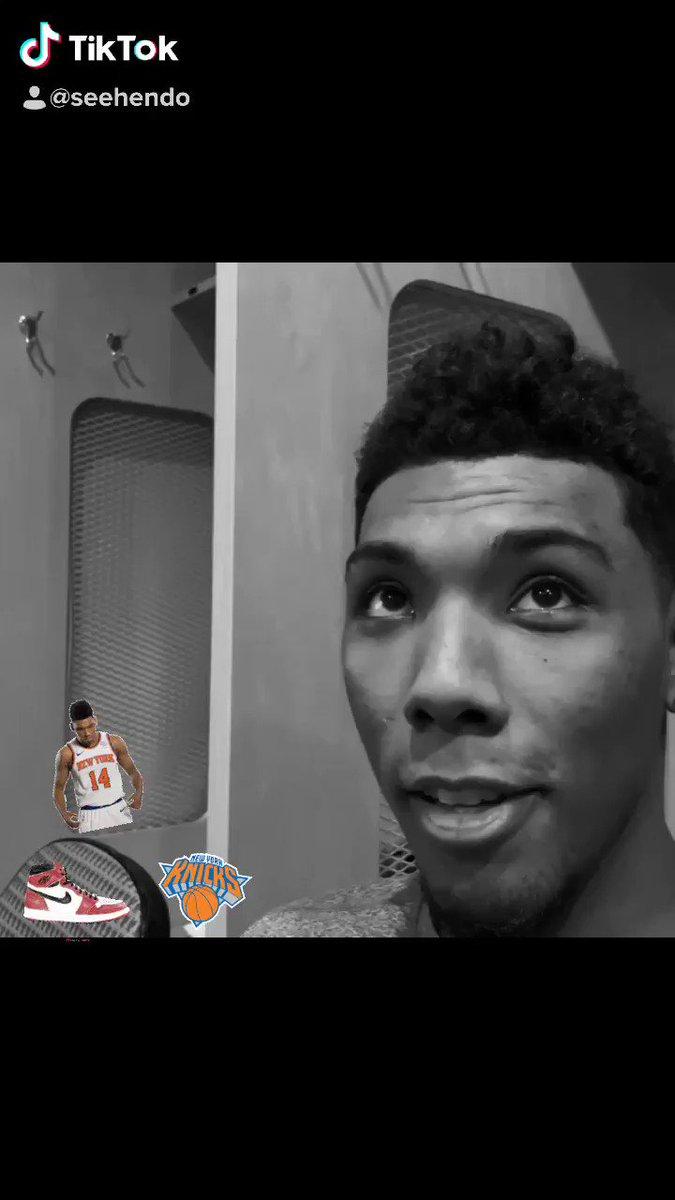 Yo! Checkout my sit-down with Allonzo Trier ( @ISO_ZO ) as we talked •sneakers • @CallofDuty @NBA2K •hoops #WRKN #CallofDutyModernWarfare #nba #knicks #seehendo Hit that subscribe button! Full video link here: youtu.be/oG8lN_5di4w