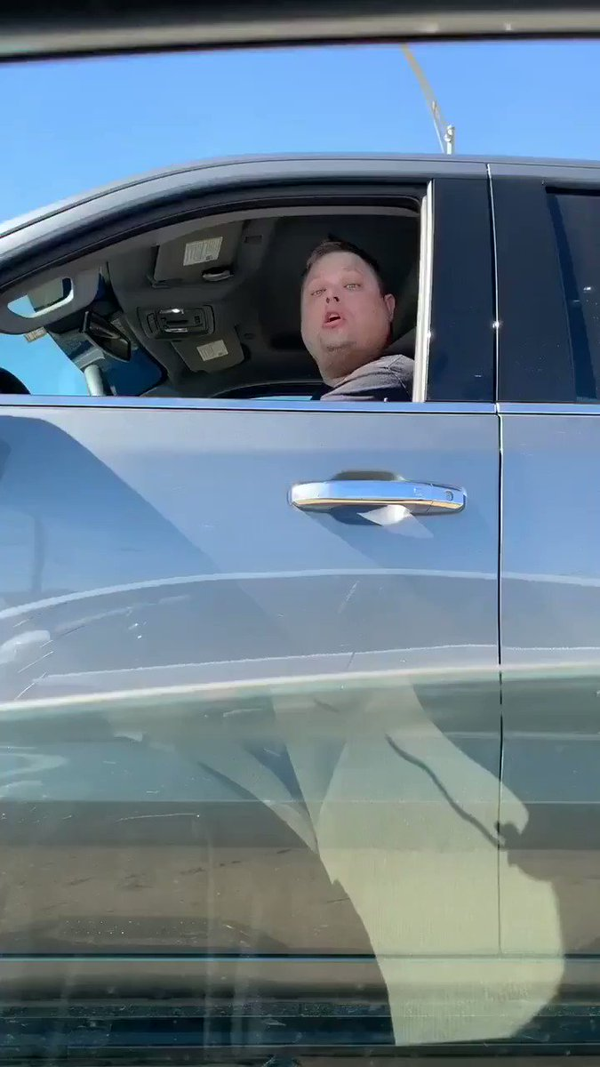 Houston, Texas   This racist White Man screamed the N word at a young black woman and tried to make a rear-end collision happen by speeding up and stopping in front of her!  Who is he?! WHERE DOES HE WORK!  THIS IS OUTRAGEOUS.
