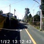 【ドライブレコーダー推奨動画】75歳の高齢ドライバーが当て逃げする一部始終