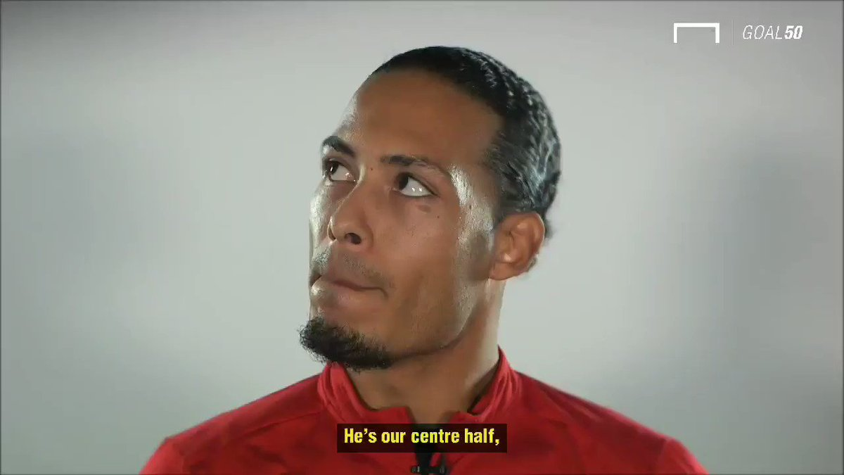 Van Dijk talking about his song before the Champions League final 🔴 #LFC