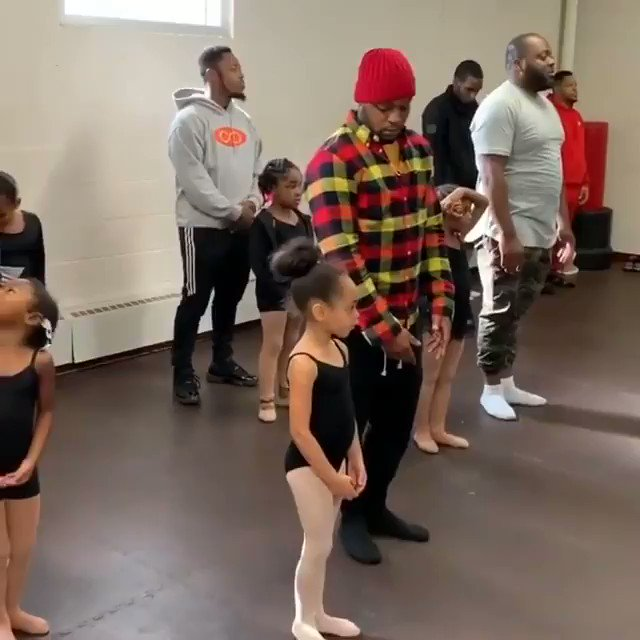 """This is beautiful.   Fatherhood.  • • • • • • Instagram: """"Today at @echappedancearts we hosted our annual Daddy and Me BOGA. This completely warmed my heart. ❤️"""""""