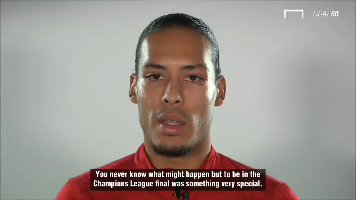 The moment @VirgilvDijk knew it was done in Madrid... #LFC