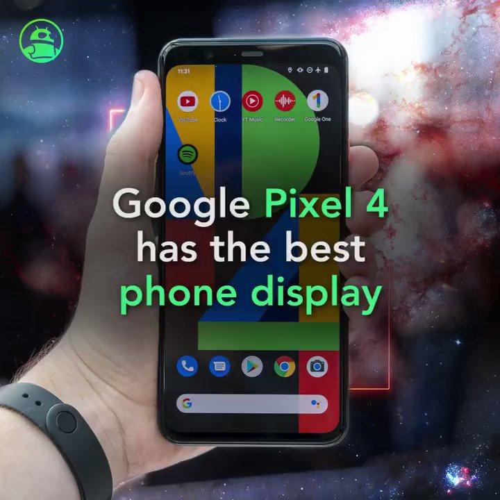 Image for the Tweet beginning: 90Hz reigns supreme: Google Pixel
