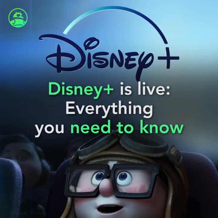 Image for the Tweet beginning: Disney Plus is now live: