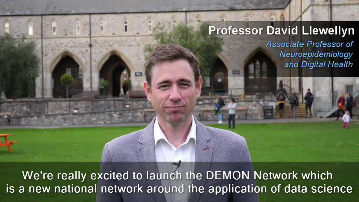Image for the Tweet beginning: The @DEMONNetworkUK has launched! 🧠🎉  Watch