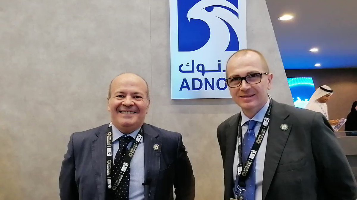 First day at #ADIPEC2019, this is our short recap. @AdipecOfficial @AdnocGroup via @antgrasso and @ingliguori #AdipecPartner #Energy #oilandgas #4IR #DigitalTransformation