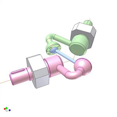 Universal Joint of Links