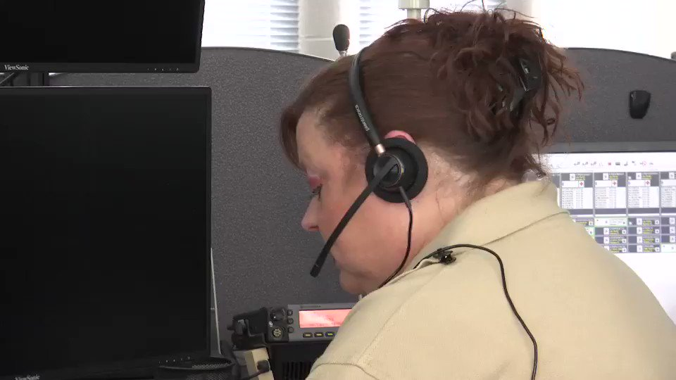 Replying to @KristenEskow: Civilian Dispatcher Denise Steele delivers the final call for Detective Jorge Del Rio @WDTN