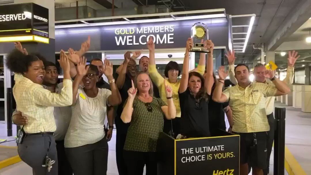 We made you our #1 priority; you made us your #1 choice. Thanks to you, we're ranked #1 in Rental Car Customer Satisfaction by J.D. Power! #1Hertz