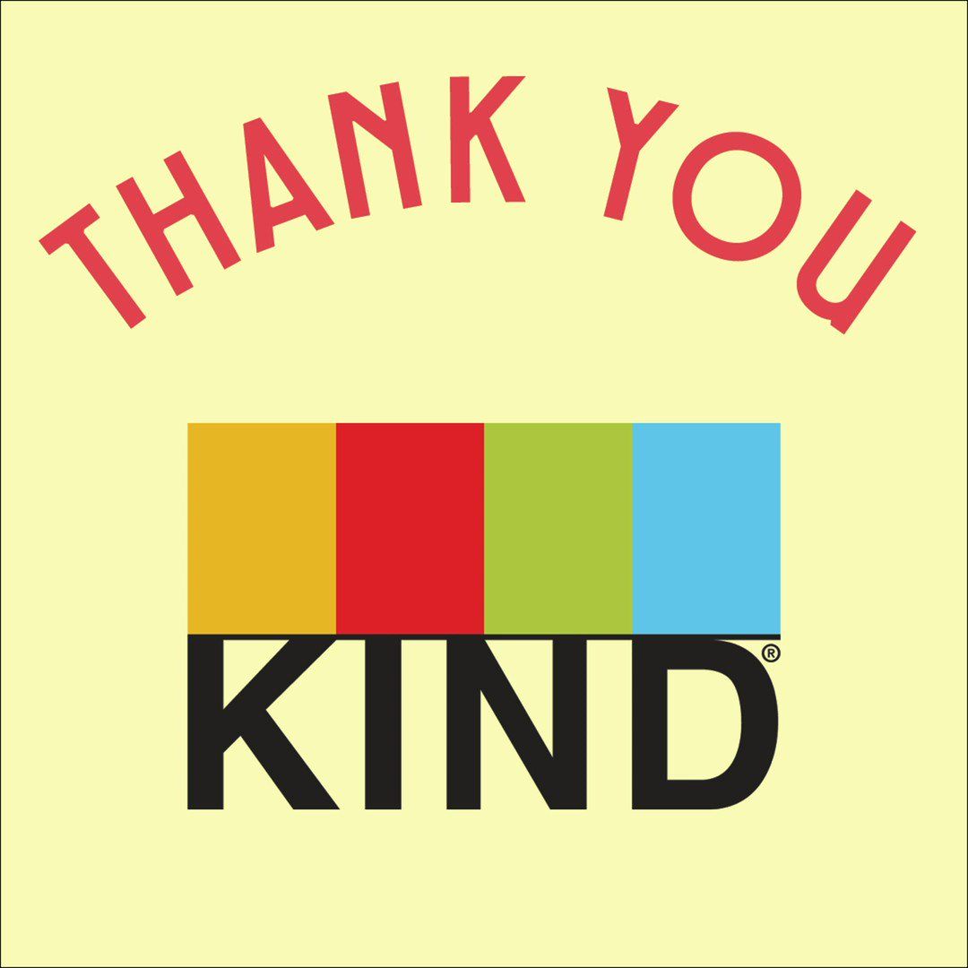 THANK YOU @KINDSnacks for being such a GREAT sponsor to the Geffen! Wed be dealing with a lot more hangry people at our shows and students at our student matinees if it werent for you.