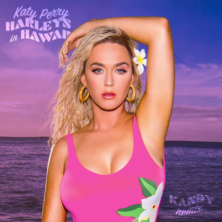 Let's spice it up shall we!? #HarleysInHawaii remixes for your personal playlist pleasure 😘🌺🏍 katy.to/HarleysRemixes