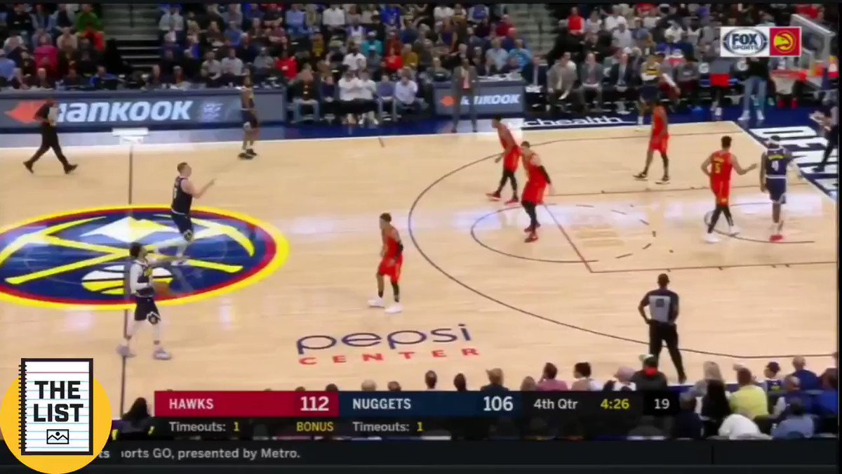 Teams are just not guarding Jokic right now outside of about 10 feet.