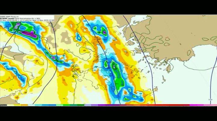 Από το μεσημέρι της Πέμπτης ο καιρός βελτιώνεται σε όλη τη χώρα και δεν προβλέπεται κάτι σημαντικό μέχρι τα μέσα της ερχόμενης εβδομάδος . Oι αναλυτικές και επίσημες προγνώσεις σας από την @EMY_HNMS στους παρακάτω συνδέσμους: hnms.gr/emy/el/forecas… hnms.gr/emy/el/forecas…