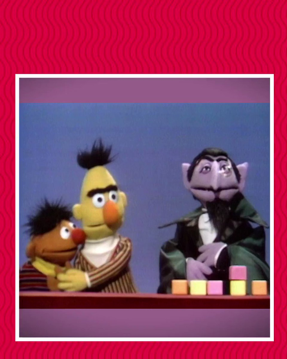 47 years ago today, @CountVonCount made his debut on Sesame Street! #Sesame50