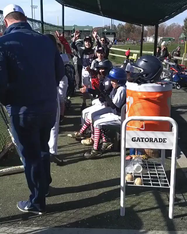 Good to see Adam Eaton & Howie Kendrick being a good influence on the youth.(📹: adam_eaton2/IG)