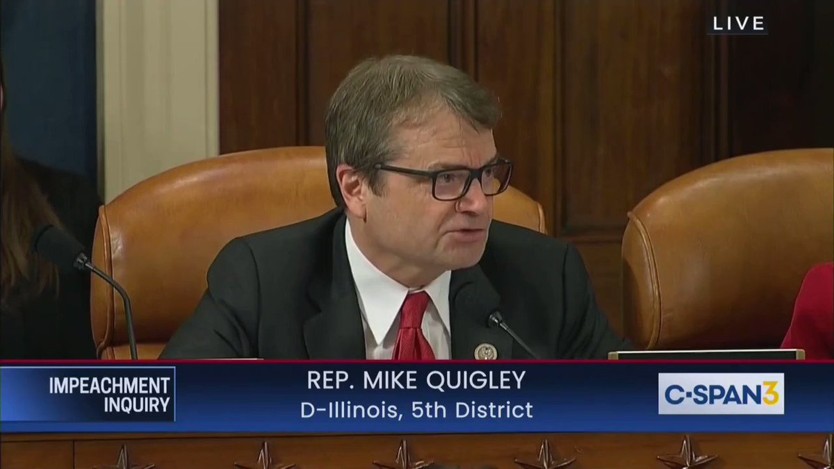 Image for the Tweet beginning: Democratic @RepMikeQuigley admits that this