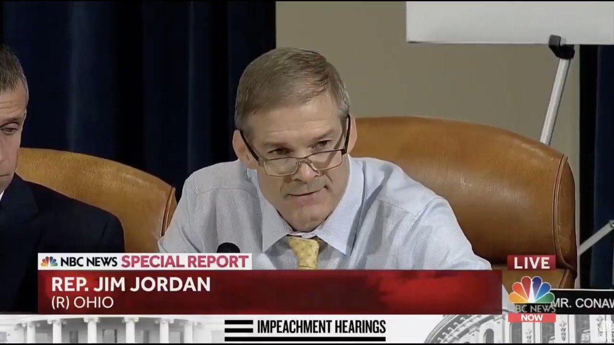 Jim Jordan set himself up for this one