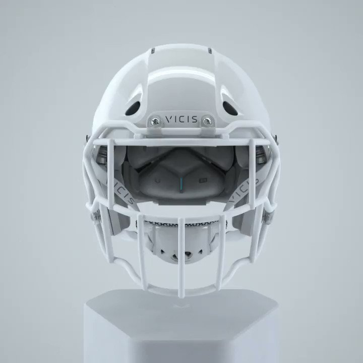 Structures tuned to the impact velocities seen in youth football. shop.vicis.com/products/zero1…