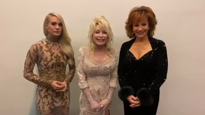 We're ready...are you? #CMAawards start at 8/7c on @ABCNetwork 🦋 @carrieunderwood @reba