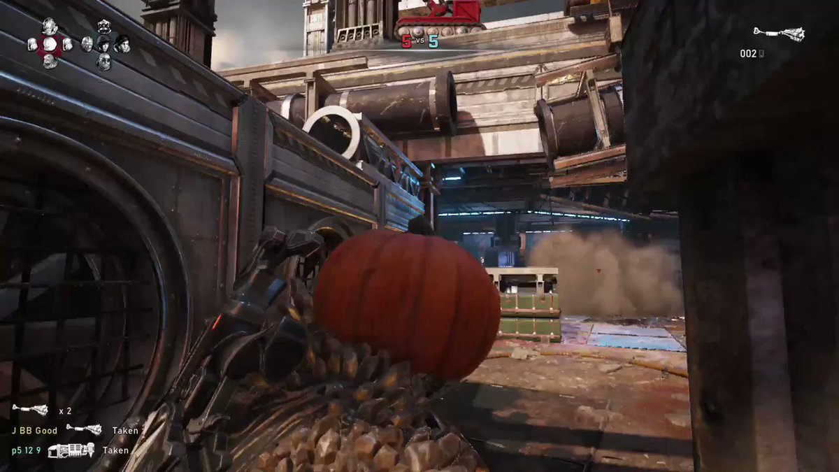 #QuadKill Almost Killed Myself 😂 #PumpkinBall #Gears5 #XboxShare