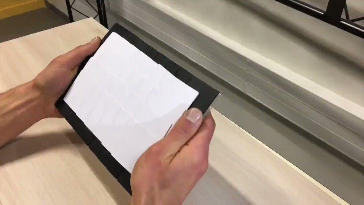 伸縮し曲げられるスクリーン「BEXHI」、仏研究チームが提案  [寄稿記事] 広げたり曲げたりするスクリーンを追跡し、外部プロジェクターがコンテンツを投影します。