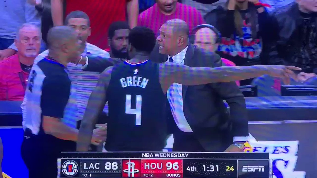 Doc Rivers got ejected, to the great delight of his son Austin: 'I enjoyed it a lot'