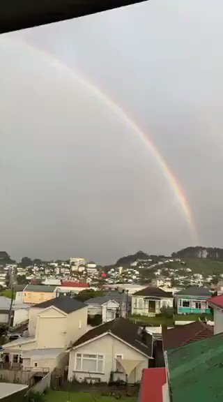 Double rainbow in the muthafucking hood #itsameme #doublerainbow #cantstoplaughing