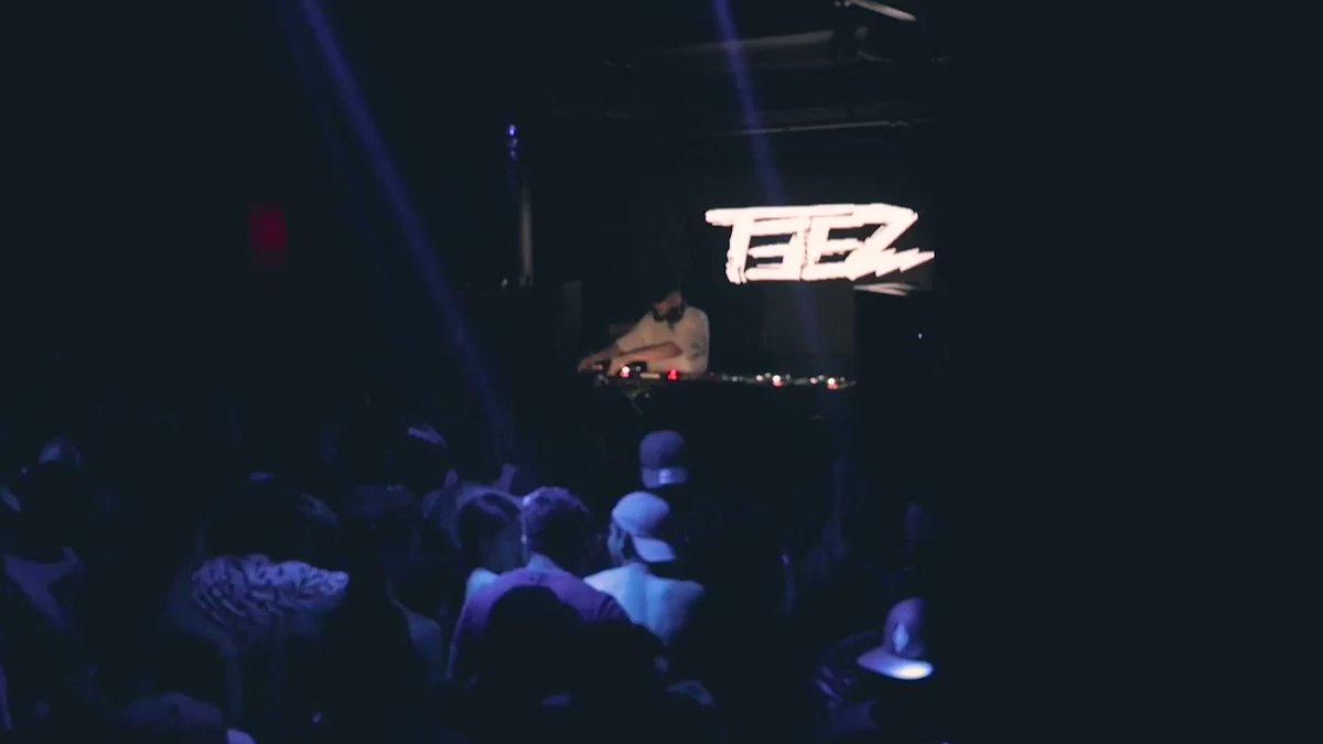 ⚠️🔥開催まで残り1ヶ月🔥⚠️🇯🇵 TEEZ CONTACT JAPAN TOUR 🇺🇸東京公演 : 12/15(日) @CIRCUSTOKYO・デイイベントの為未成年入場🆗🙆♂️🙆♀️昨年に行った@DJTeez__ &Friendsの映像です🎥💥🎥💥前売り🎫 #squarewave #teez #jerseyclub