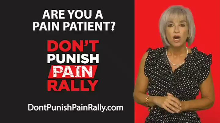 11,700 today! We are the 1st to organize rallies throughout the country for ppl with pain/providers. We protest again on 3/20/20. Plz choose an indoor venue. B seen, b heard. This is your time to fight!!