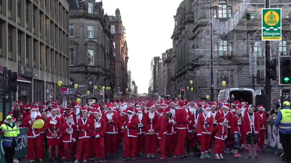 Santa Dash is a fun day out & being involved is a good way to do your bit for charity. 🏃♂️  Maisie McCormick from @Beatson_Charity took time to speak to us about how #SantaDash helps them.  There is still time to register for Santa Dash 2019 👉  🎅