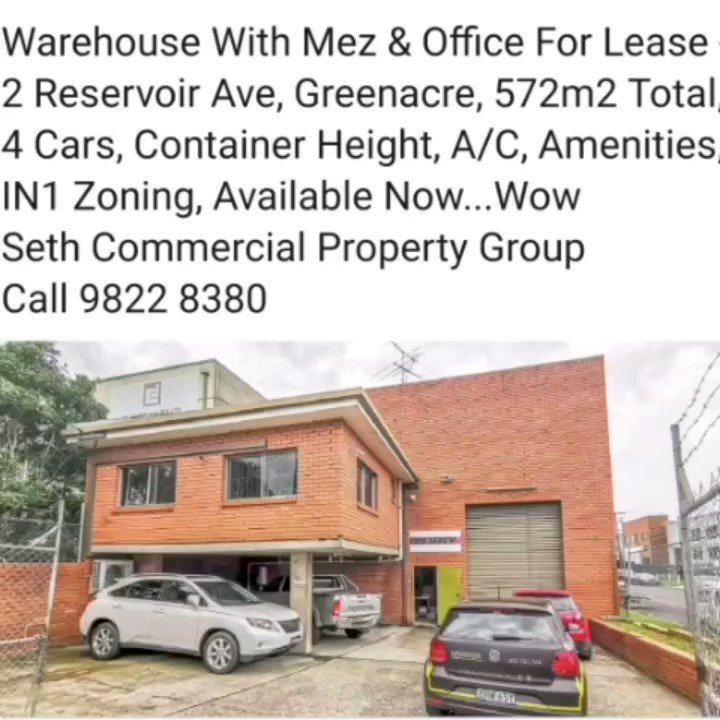 Seth Commercial Property Group - For Lease https://t.co/r7C0bbMrlf