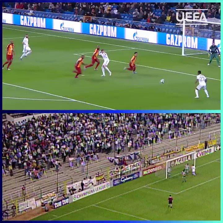 Teenage hat-trick heroes for Real Madrid:   Raúl González - 18 years, 114 days   Rodrygo - 18 years, 302 days   #UCL |  @realmadriden