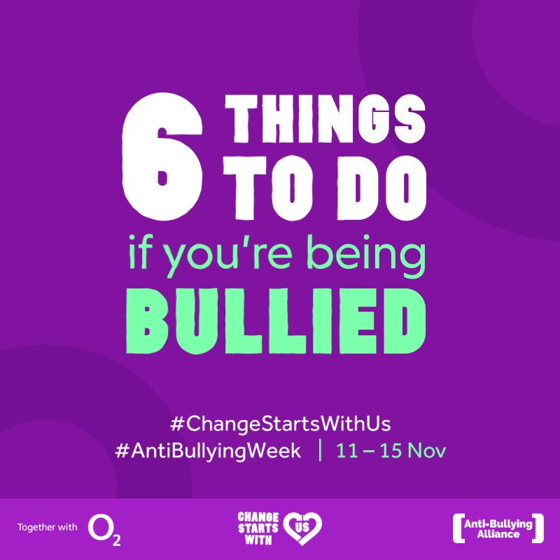 Image for the Tweet beginning: #AntiBullyingWeek  #ChangeStartsWithUs  #vgmspshe