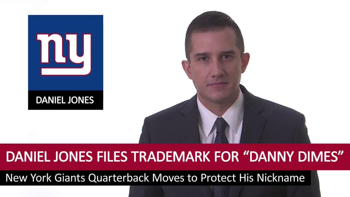 New York Giants' Daniel Jones files trademark for 'Danny Dimes'