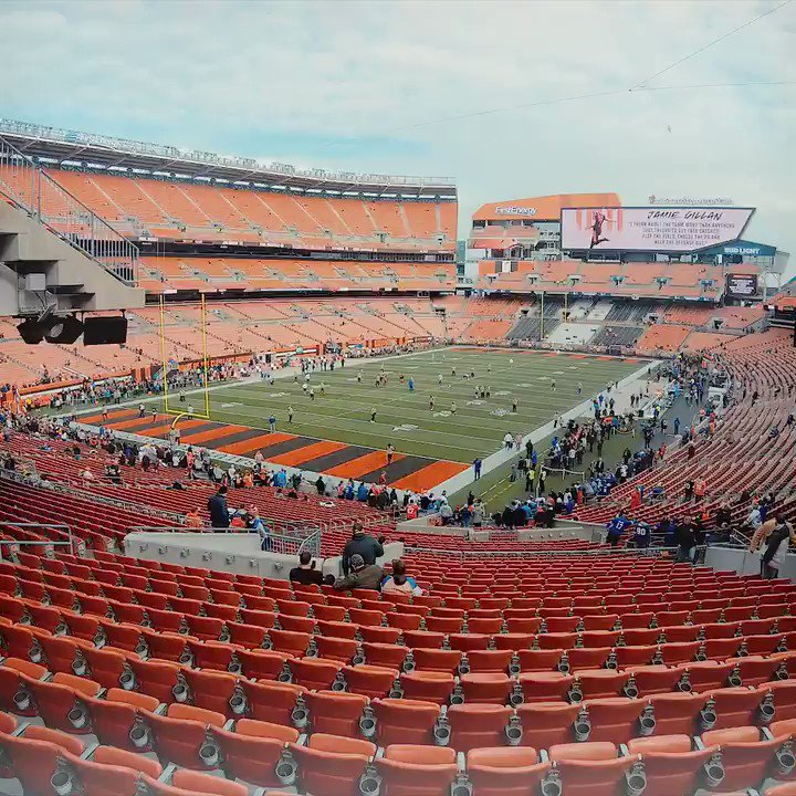 Tonights the night. #Browns vs. Steelers.