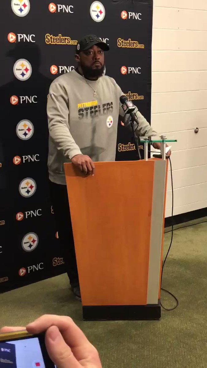 Steelers HC Mike Tomlin on fight at the end of the game: 'No comment'