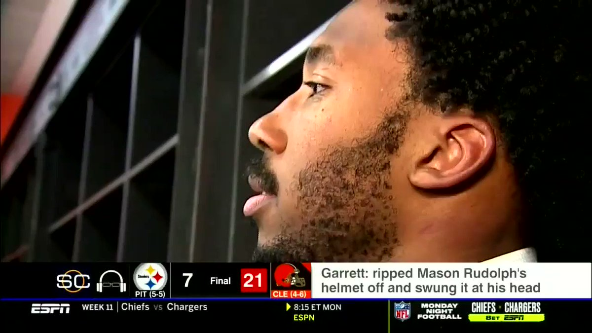 Browns: Myles Garrett doesn't think his ugly attack overshadowed win