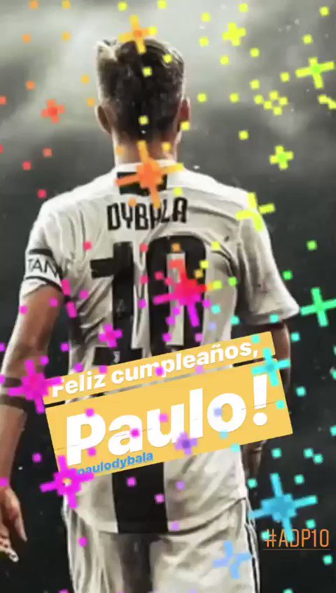 Feliz cumpleaños, Paulo! Ale  #ADP10 @PauDybala_JR