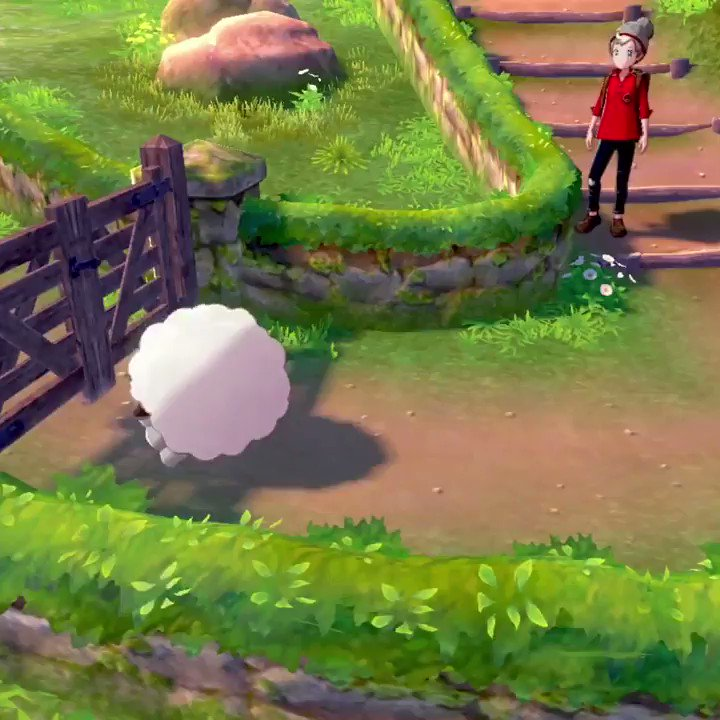 I imagine a great many of you will be enjoying #PokemonSwordShield today, so I hope you have a great time with it! Id ask which starter youre going for, but I know were all going to complete the game with six Wooloos anyway. 🐑 @NintendoAmerica
