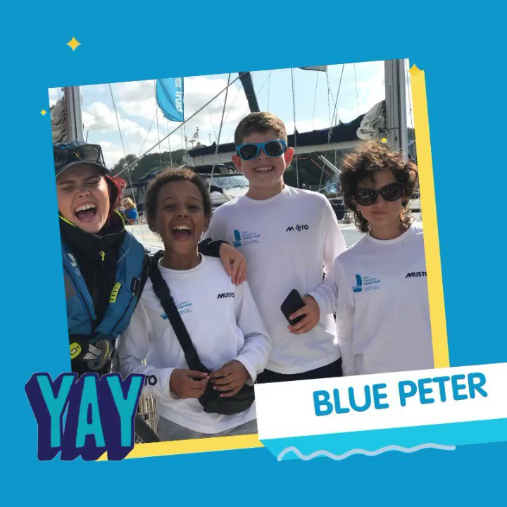Who saw the @emctrust on @cbbc #BluePeter? Fear not If you missed it you can catch it again at 7:30pm, don't miss the chance to see @Linds_bluepeter set sail with the Trust 💙⛵️💛 #ConfidenceafterCancer