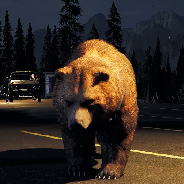 You can pet the bear in Far Cry 5