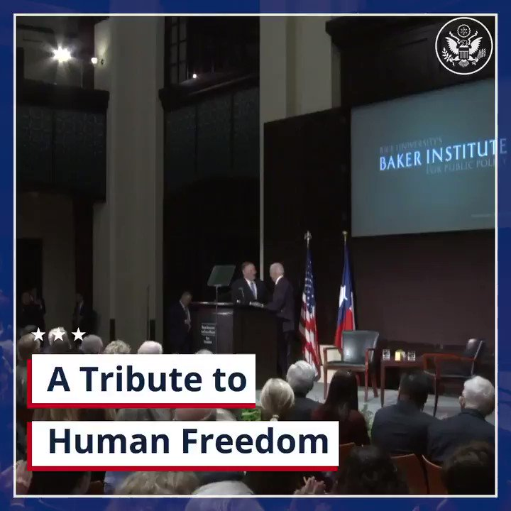 The hunger for human freedom always prevails, as it did with the fall of the Berlin Wall & the end of apartheid in South Africa. This same hunger is unfolding today in places like Iran, Venezuela, & Hong Kong. Those who long for freedom will triumph.