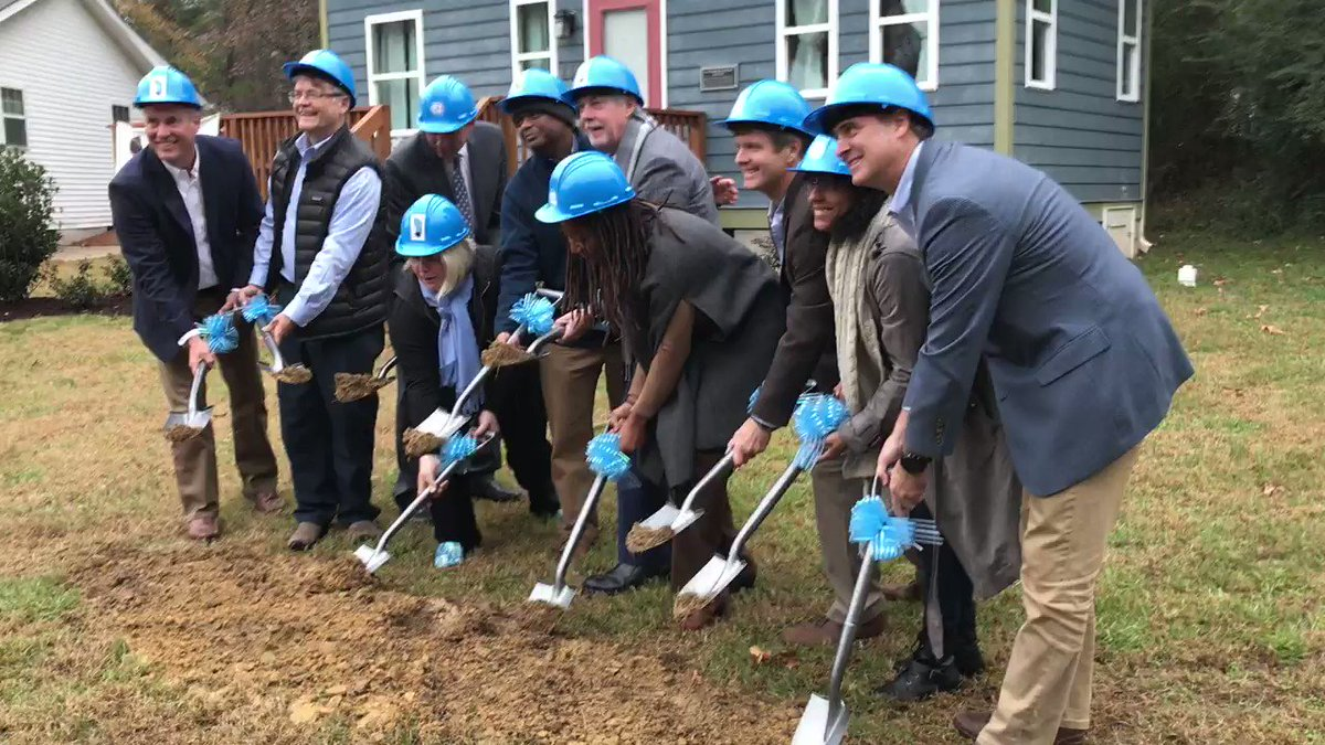 We did it! This afternoon, Tiny Homes Village team members and community leaders broke ground on this innovative housing option for persons with mental illness. Look for more info soon … https://t.co/nOIF918z01