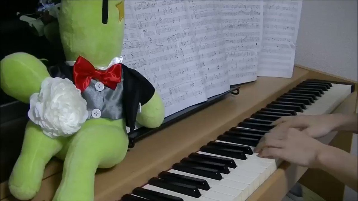 【FF14】イルメグ 夜 bgm ピアノで弾いてみた!(il mheg  piano cover)  @YouTubeよりピアノの演奏動画投稿しました🎹前回湖畔地帯が激しかったので、今回はふわっとして透明感のある感じをイメージしました🐖🌸YouTubeの方が高音質で最後まであります! #ff14楽器演奏