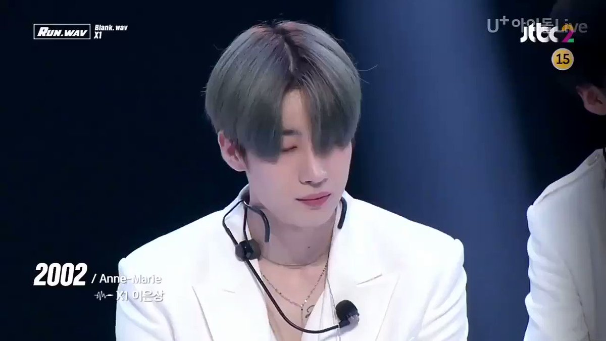 #LikeAlwaysX1#MAMAVOTE  #x1Just bringing back Eunsang singing anne marie's 2002 to your tl We miss you guys 💖💖@x1official101