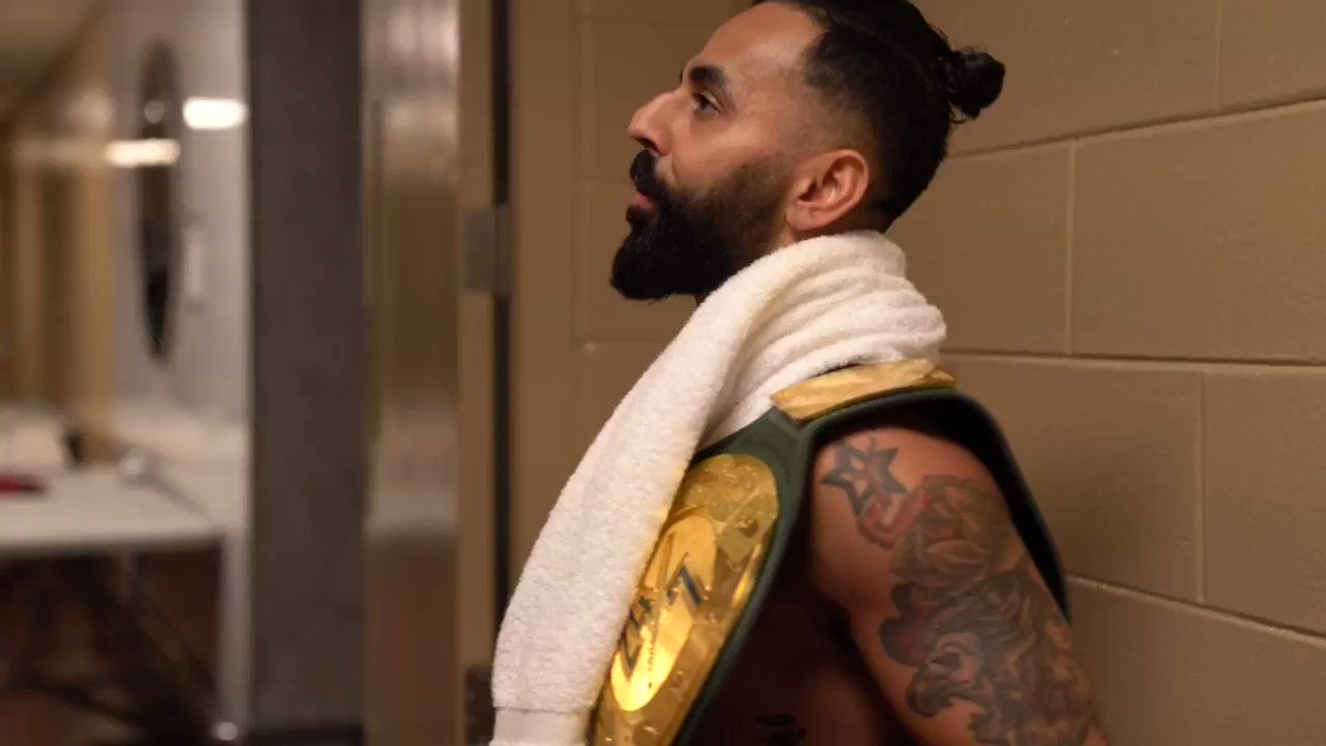 .@TrueKofi accepts the #Bollywood247 challenge. Can he sing the #Bollywood song of the week and earn his way to a title shot? #BollyBollyBollyBolly @WWE