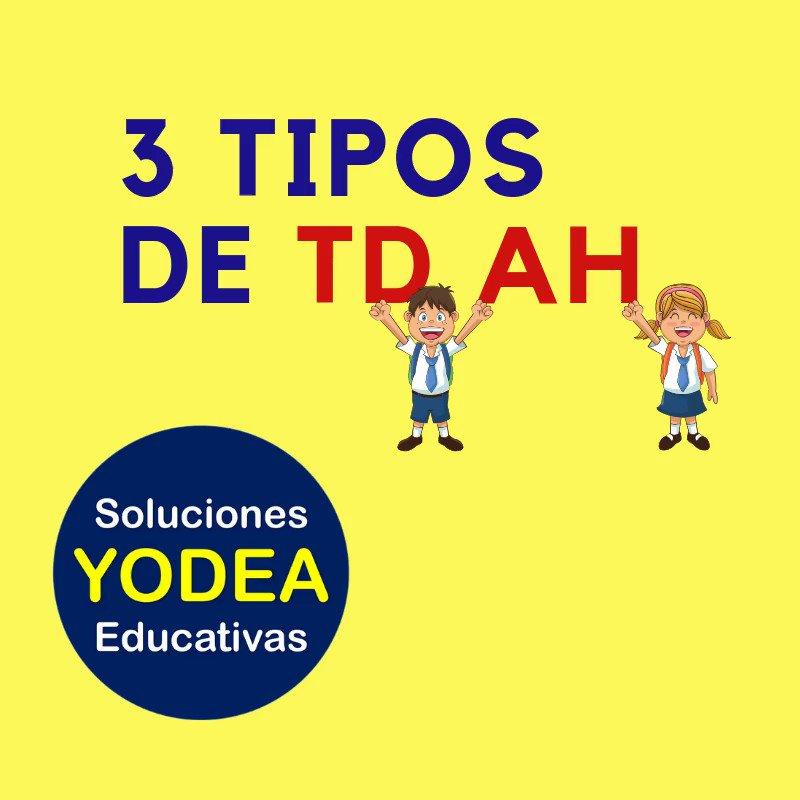 ¿Conoces los 3 Tipos de TDAH? #TDAH #Educacion #Aprendizaje #Barreras #NEE #Inclusion #EducacionEspecial #SEP #EducacionBasica #escuela #evolucion #ciencia  @emoctezumab