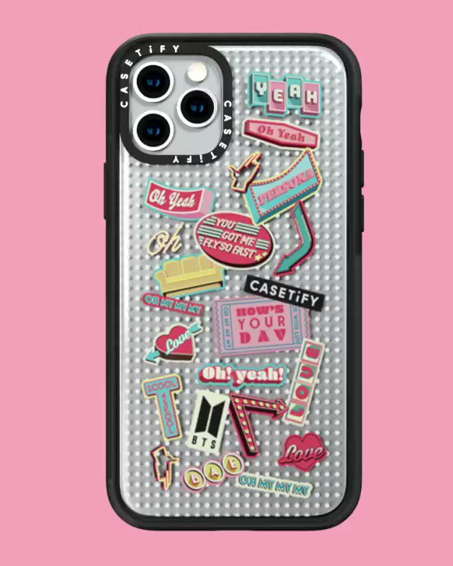We're counting down to Co-Lab, BTS x #CASETiFY.🕺🏻Our #BTSxCASETiFY Co-Lab is inspired by the global superstars' record shattering music video 'Boy With Luv feat. Halsey.' 🎶 Click to get on the waitlist! #BTSxCASETiFY launches worldwide November 19th. 👉 http://bit.ly/33oZO2F